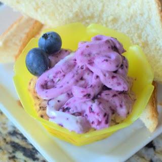 Blueberry Cream Cheese Spread