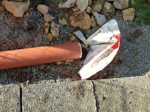 Photo: hier wird es dann in die Kanalisation gehen.....