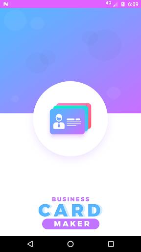Pembuat kartu nama - kunjungan 3.7 screenshots 1