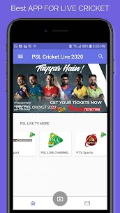 PSL Live Cricket Apk | GEO Sports Live, PTV Sports Live 2
