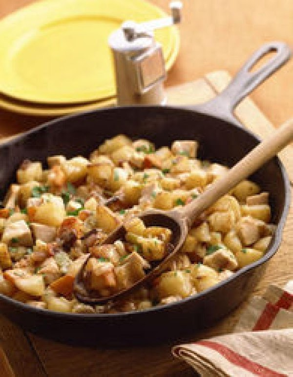 Brunch Turkey Hash (from Leftovers) Recipe