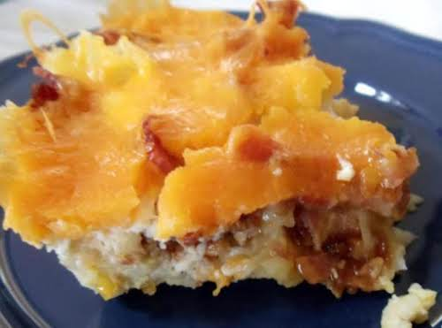 "Egg, Potato and Cheese Casserole ""Very good, my son and I love..."