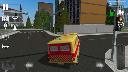 Emergency Ambulance Simulator 1.0.4 Cheat screenshots 3