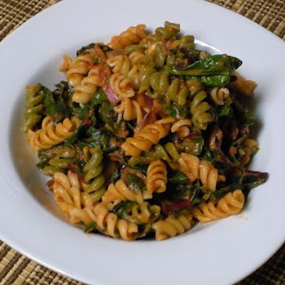 Spinach and Swiss Chard Pasta