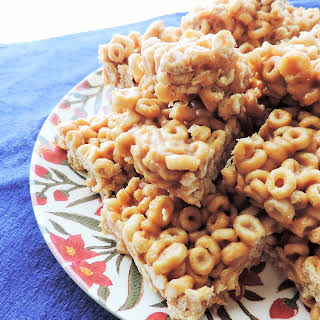 Peanut Butter Cereal Treats.