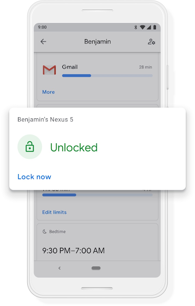 A Google phone screen that shows the device is locked until 7:30am.