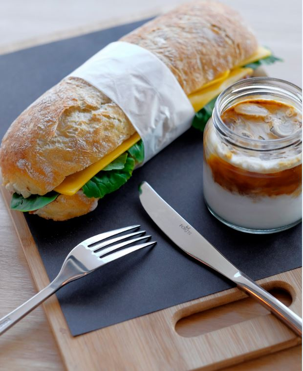 Yield offers a selection of sandwiches, salads and pastries.