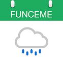 Calendário das chuvas icon