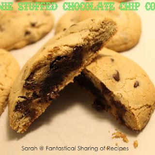 Brownie Stuffed Chocolate Chip Cookies.