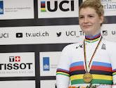 Wereldkampioene Degrendele had moeite met haar regenboogtrui