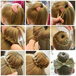 peinados para nias screenshot thumbnail - Peinados De Ninas