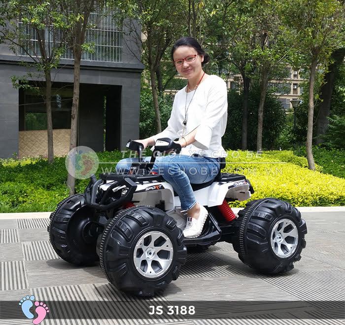 Xe mô tô điện địa hình khủng JS-3188 2