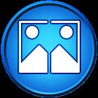 画像のミラー効果 icon