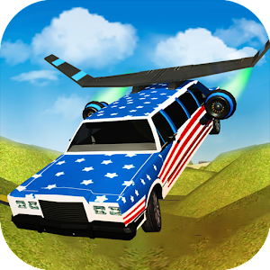 Flying Limo Car Driving Fever for PC and MAC