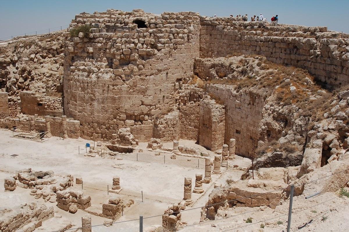Palace of Herod the Great, inside Herodium, near Bethlehem