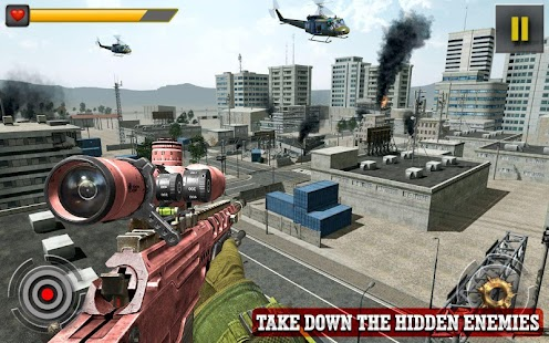 Sniper Helicopter Shooter: The Deadly War - náhled