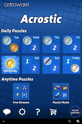 Astraware Acrostic screenshots 7