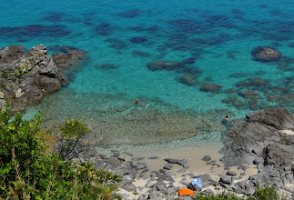 Photo: Italy,Calabria,Zambrone - Marinella beach.