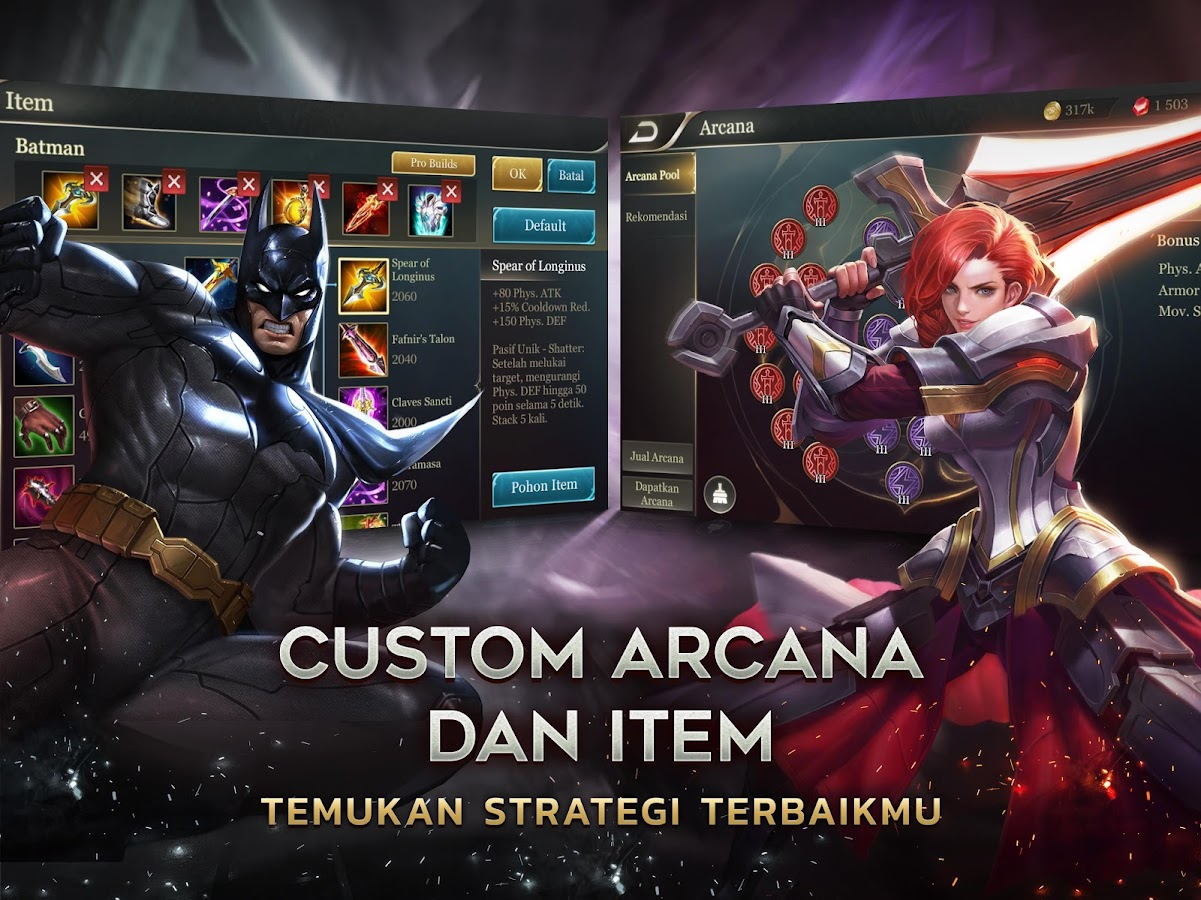 Garena Aov Arena Of Valor Action Moba Screens