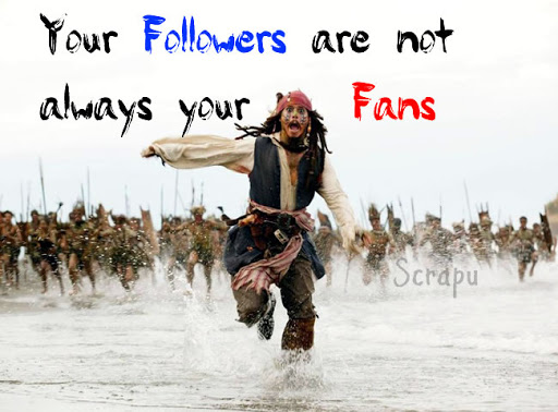 Your Followers are not always your Fans. image