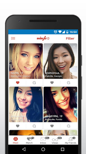 Mingle2 - Free Online Dating & Singles Chat Rooms  screenshots 1