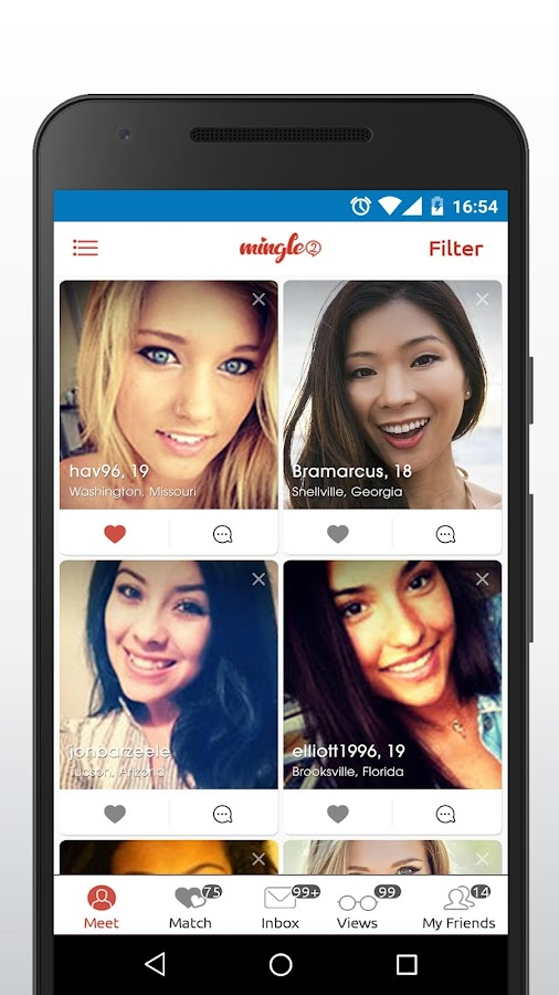 Mingle2 - Free Online Dating & Singles Chat Rooms- screenshot