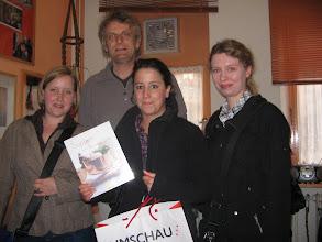 Photo: Spendenübergabe Umschau-Verlag