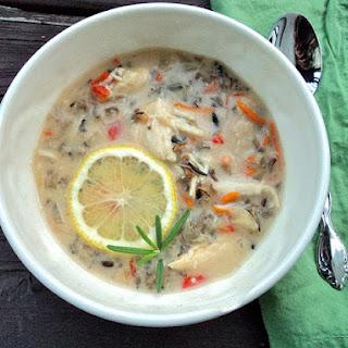 Creamy Crockpot Chicken & Wild Rice