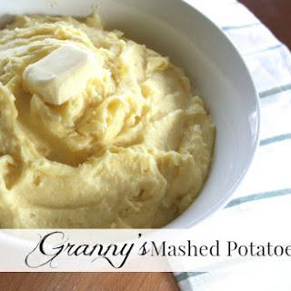 Granny's Mashed Potatoes