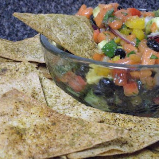 Papaya Black Bean Salsa