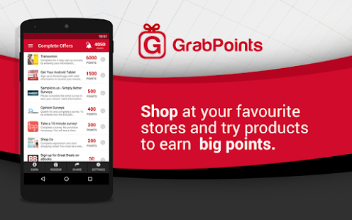 GrabPoints - Free Gift Cards - náhled