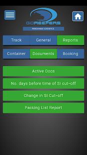 GoReefers Mobile - náhled