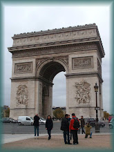 Photo: Paris Arc de Triomphe * Budapest-paris aerplane * Hungarian Sibyls in Paris, remembering mlle Lenormand, esoteric Tour * www.lenormand.hu