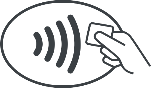 Contactless symbol