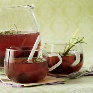 Cherry and Rosemary Punch.