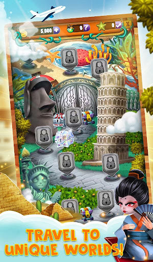 Match 3 World Adventure - City Quest apkpoly screenshots 15