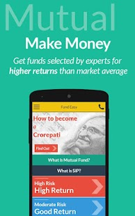 Fund Easy- Mutual Funds and SIP- screenshot thumbnail