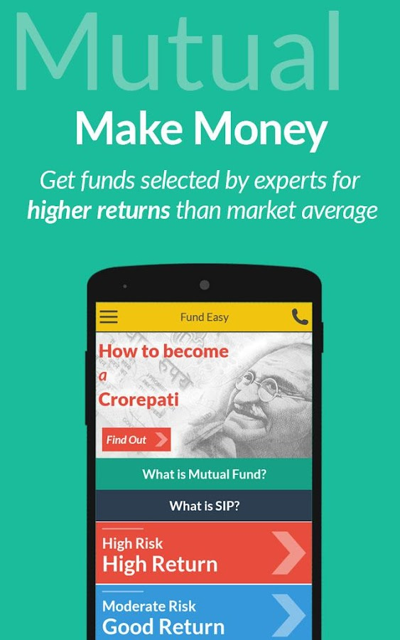 Fund Easy- Mutual Funds and SIP- screenshot
