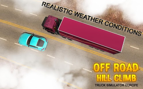 Offroad Hill Climb Truck Simulator Europe 3D - náhled