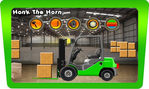 Forklift Truck Toy