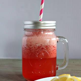 Strawberry Lemonade Cocktail.