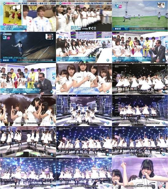 160812 (Keyakizaka46) 欅坂46 Part - Music Station