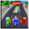 Pj Subway Dash Masks Adventure 3D APK