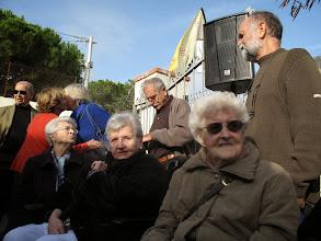 Photo: Nos doyennes, Finette et Césarie.