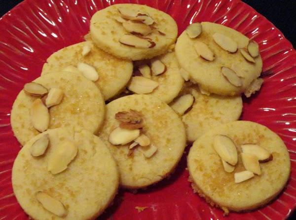 Nicky's Sand Tart Cookies Recipe