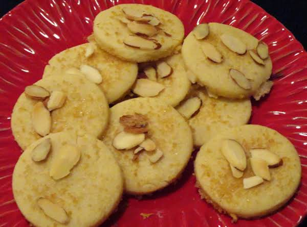 Nicky's Sand Tart Cookies
