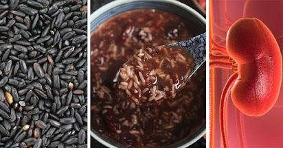 Món ăn bài thuốc dưỡng thận từ gạo đen + đậu đỏ: Người thận yếu, muốn thải độc nên biết mà ăn