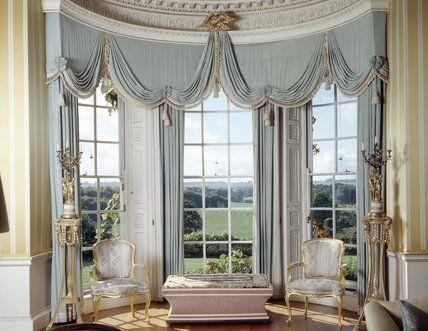 Taffeta Window Curtains Ideas