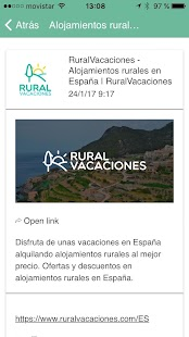 Ruralvacaciones - Book today!- screenshot thumbnail