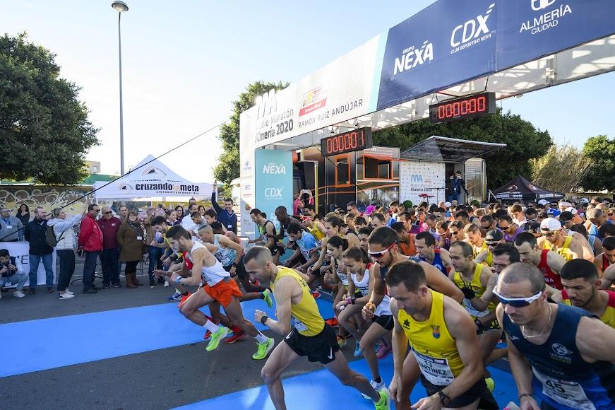 La salida de la XXIII Media Maratón.